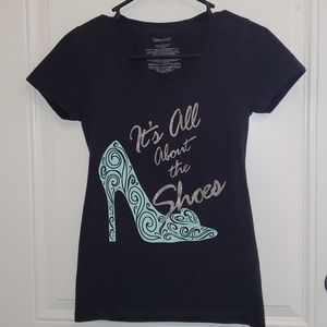 It's All About the Shoes Cinderella t-shirt